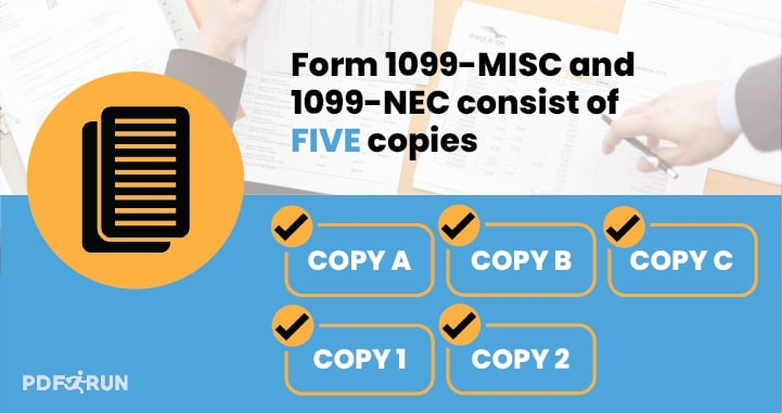 Form 1099-MISC and 1099-NEC copies