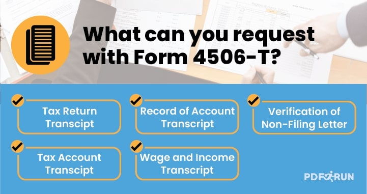 Form 4506-T Requests