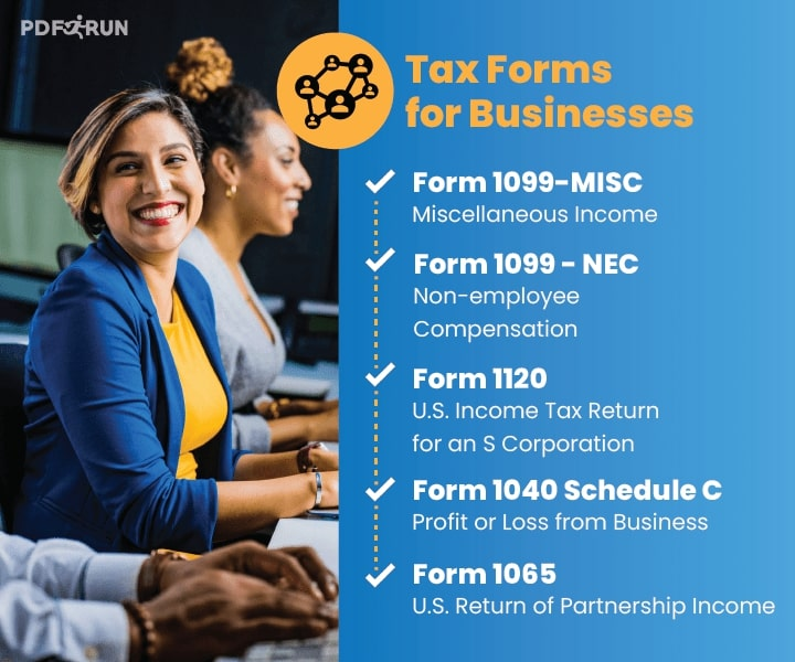 Tax Forms for Businesses