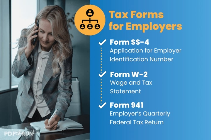 Tax Forms for Employers