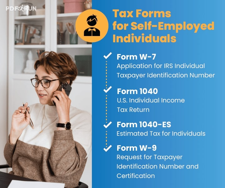 Tax Forms for Self-Employed Individuals