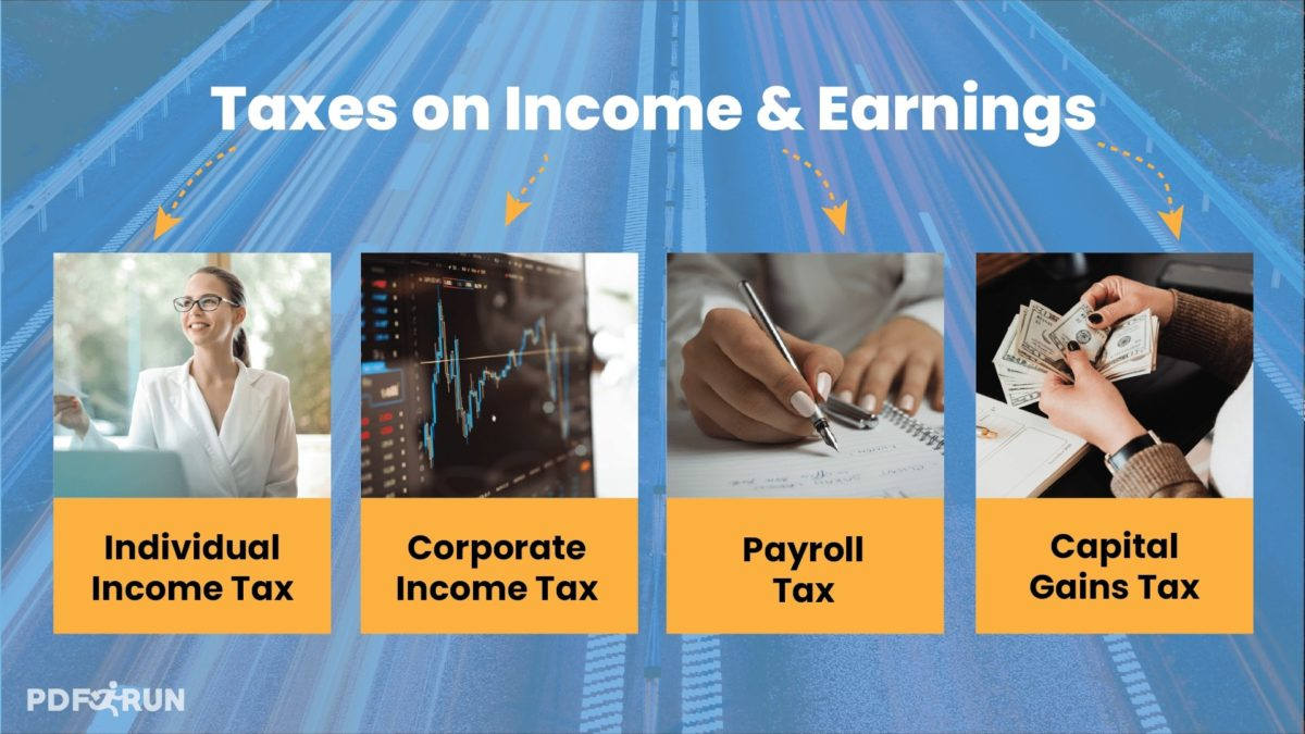 Taxes on Income and Earnings